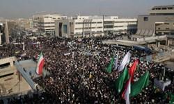 فیلم/ راهپیمایی عظیم مردم مشهد علیه تخریبگران