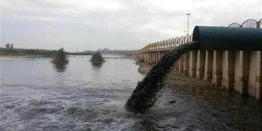 بخش عمده فاضلاب بهصورت خام وارد رودخانه کارون میشود/وزارت نیرو به وضعیت تخلیه فاضلاب در رودخانه کارون رسیدگی کند