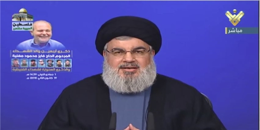 سید حسن نصرالله: سخنان تیلرسون منافقانه و دروغ است/ در کنار دولت و ارتش علیه اسرائیل ایستادهایم