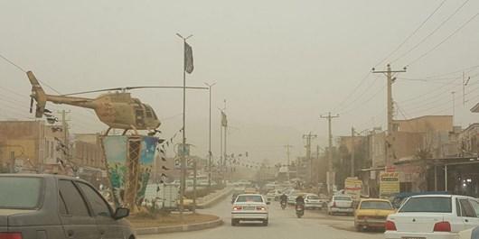 هوای 3  شهرستانها مرزی کرمانشاه در وضعیت بحران قرار دارد