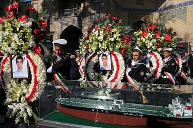 مراسم بزرگداشت جانباختگان نفتکش سانچی