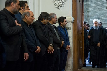 حسن روحانی در مراسم بزرگداشت جانباختگان نفتکش سانچی