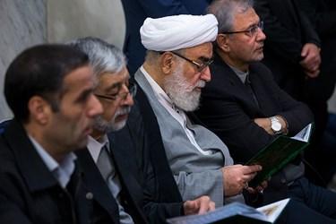 حجت الاسلام محمدی گلپایگانی در مراسم بزرگداشت جانباختگان نفتکش سانچی
