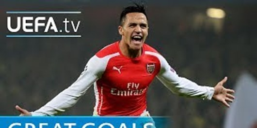 فیلم/ 5 گل برتر الکسیس سانچس در لیگ قهرمانان اروپا