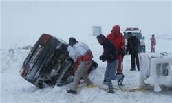 برف و کولاک 7 استان کشور را در نوردید
