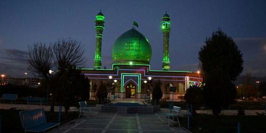 امامزاده طاهر (ع) میزبان مسافران گرفتار در کولاک بود