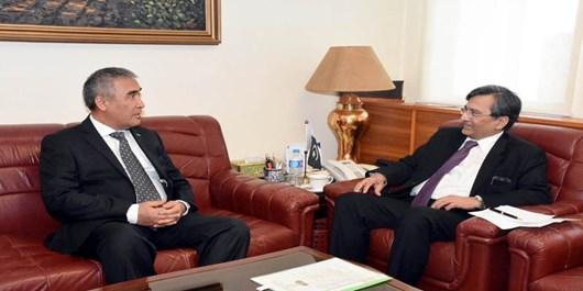 گسترش روابط تجاری محور رایزنی مقامات پاکستان و ترکمنستان