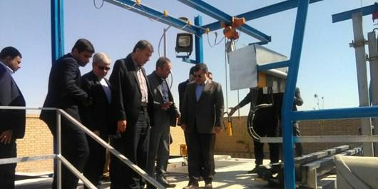 ايستگاه پمپاژ فاضلاب شهرک نبوت به نمایندگی از 6 پروژه آب و فاضلاب در بندرعباس به بهره برداری رسيد