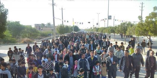 پیادهروی خانوادگی در بردخون برگزار شد