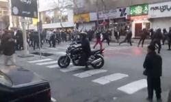 مجروحیت 30 مأمور ناجا در آشوب خیابان پاسداران تهران