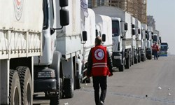 حمله ترکیه به کاروان امدادرسان به عفرین سوریه