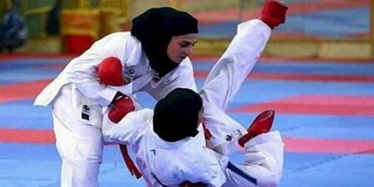 درخشش فرزندهمکار منطقه خلیجفارس در مسابقات کاراته بانوان