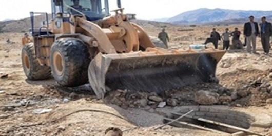 چاههای غیر مجاز قطب صنعتی راونج مسلوب میشوند