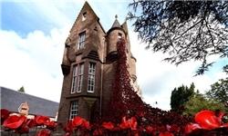 افتتاح مجسمه «پنجره غمانگیز» در انگلیس