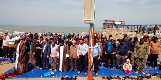 تبلیغ روحانیون در سواحل مازندران+ عکس