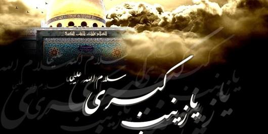 فیلم/ مراسم رحلت حضرت زینب (س) در حرم حضرت عبدالعظیم(ع)