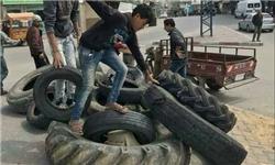 تایر و آینه؛ ابزار فلسطینیها برای اختلال در دید تکتیراندازهای صهیونیست+عکس