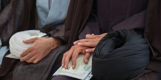 آیین عمامهگذاری طلاب در ریگان برگزار شد