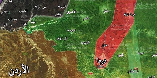 نقشه جدید آمریکا برای تأسیس رژیم تکفیری به پایتختی درعا