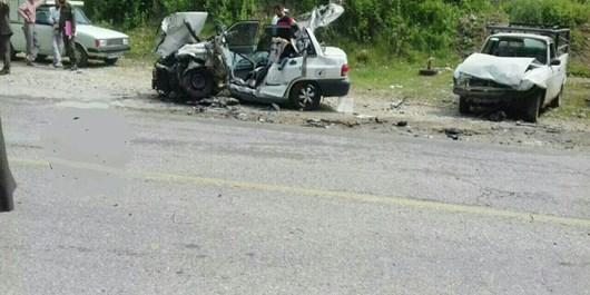 وقوع تصادف منجر به مرگ در جاده ساری به تاکام