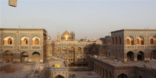 پیشرفت ۸۷ درصدی بخش زیارتی صحن حضرت زهرا(س) حرم علوی/ افتتاح همزمان با عید غدیر
