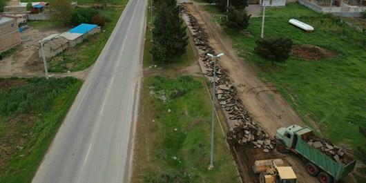 جادههای مواصلاتی تکاب تا پایان سال بهسازی و تعریض میشوند