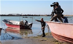 ادامه تصویربرداری «سامو بندری» در آبهای خلیج فارس/ حضور ۱۵۰ بازیگر