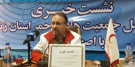 449 حادثهدیده از سوی جمعیت هلال احمر زنجان امدادرسانی شد/کمک به انتقال زن باردار به بیمارستان
