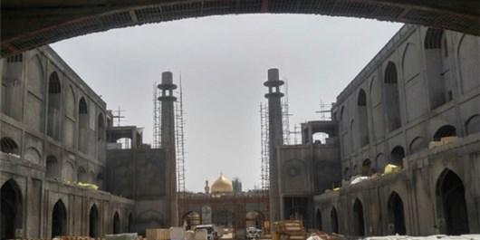 صحن حضرت زهرا (س) تا پایان امسال به بهرهبرداری میرسد