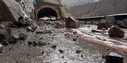 احتمال سقوط و ریزش سنگ در محورهای کوهستانی استان البرز/ رانندگان احتیاط کنند