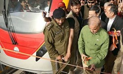افتتاح خط مونوریل شهر لاهور پاکستان به روایت تصویر