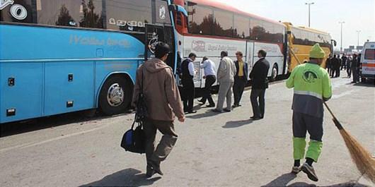پلیس نامحسوس در قالب مسافر رانندگان اتوبوسها را رصد میکند