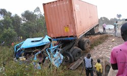 تصادف مرگبار در اوگاندا/ 22 نفر کشته شدند