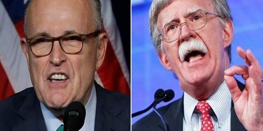 گزارش ان. بی. سی از نفوذ منافقین در کاخ سفید؛ «قمار خطرناک ترامپ»