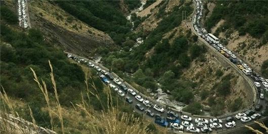 اعمال محدودیت ترافیکی در محورهای هراز و فیروزکوه/ جاده کندوان فردا یکطرفه میشود