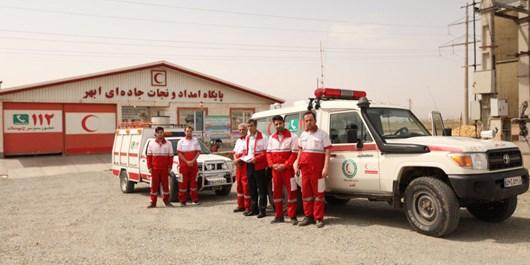 طرح امداد و نجات جادهای جمعیت هلال احمر در زنجان اجرا میشود