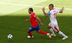 ترکیب کاستاریکا مقابل سوئیس مشخص شد+عکس