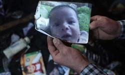 شادی صهیونیستها از به آتش کشیده شدن نوزاد فلسطینی + فیلم