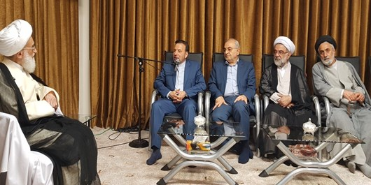 دیدار رئیس دفتر رئیسجمهور با آیتالله نوری همدانی