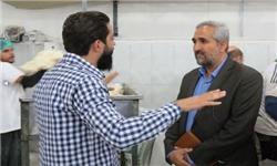 پخت روزانه 32 هزار نان در کربلا برای زائران ایرانی+ عکس
