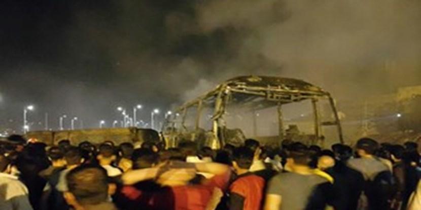 آخرین جزئیات حادثه برخورد تانکر سوخت با اتوبوس در سنندج/ استاندار کردستان: 11 نفر جان باختند