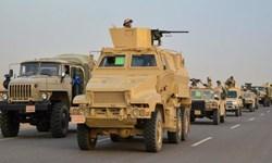 آغاز عملیات نظامی ارتش مصر در شهر رفح