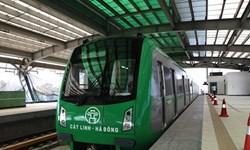 اولین راهآهن  شهری ویتنام ساخته شد+تصاویر