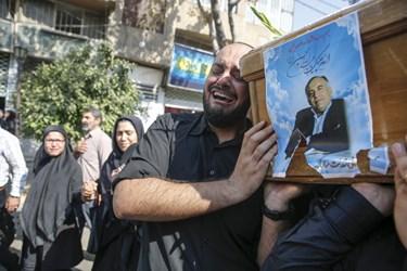 تشییع پیکر شهید مدافع امنیت حسن ترکمان در شیراز