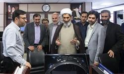 حضور معاون فرهنگی قوه قضائیه درخبرگزاری فارس