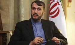 امیرعبداللهیان: ارتکاب آمریکا به خطای نظامی منجر به تسریع در خروج و پایان صهیونیسم خواهدشد