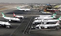 فرود اضطراری فوکر آسمان در فرودگاه مهرآباد/مسافران با بوئینگ 737منتقل می شوند