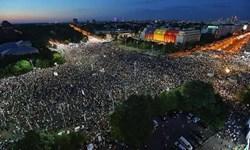 بخارست، دومین روز ناآرام را تجربه کرد