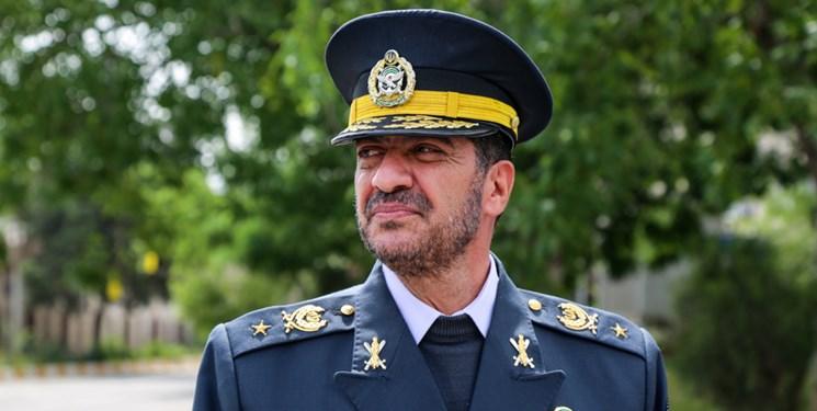 بازدید فرمانده نیروی پدافند هوایی از ایستگاه رادار شهید خسروی
