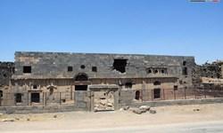 بلایی که تروریستها بر سر کاخ باستانی زینالعابدین سوریه آوردند +تصاویر